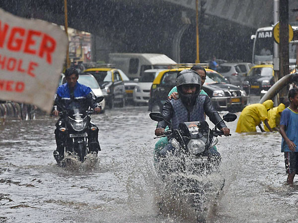 'Rains to continue in Mumbai'