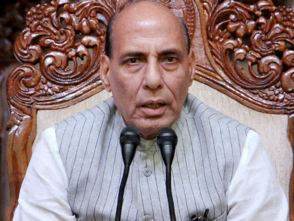 We are against Pak terrorists: Rajnath