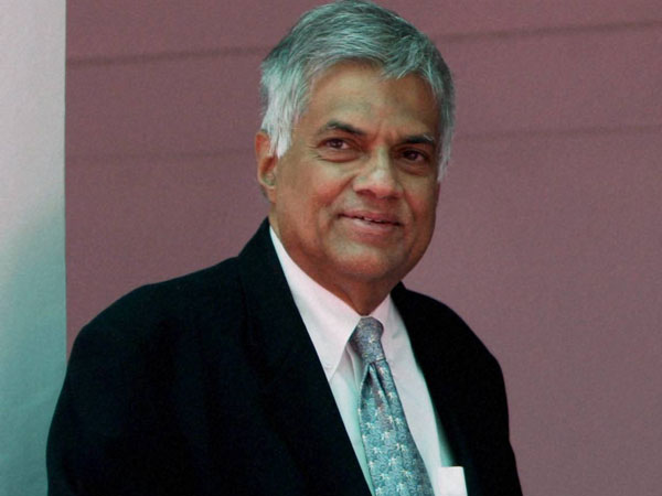 Image result for prime minister ranil wickramasinghe arrived in india