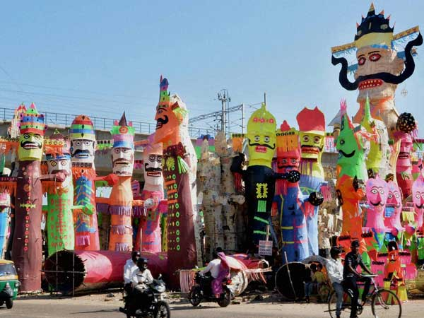 Dussehra celebrated across India