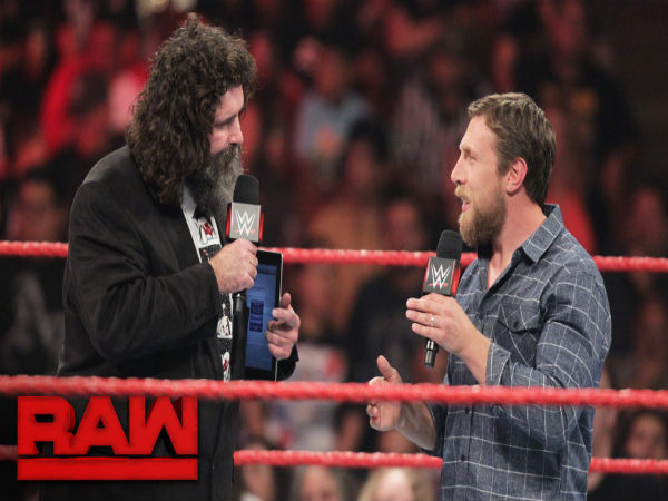 Mick Foley and Daniel Bryan (Image courtesy: Youtube)