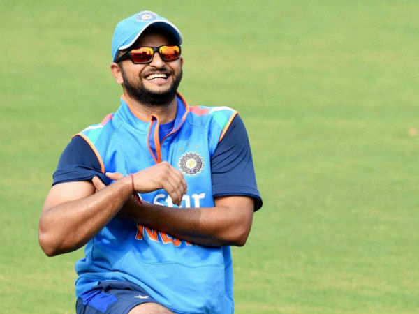 Suresh Raina practices in the nets but will still miss 2nd ODI against New Zealand