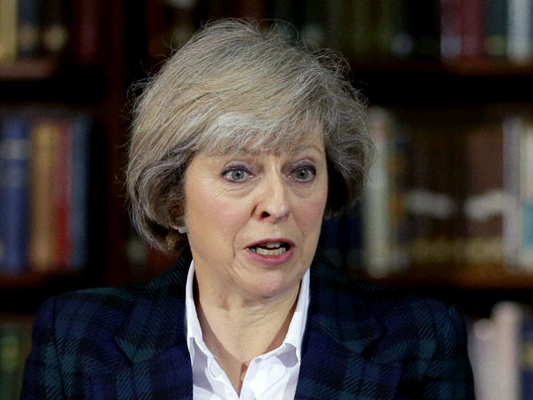 UK's stand on Kashmir unchanged: May