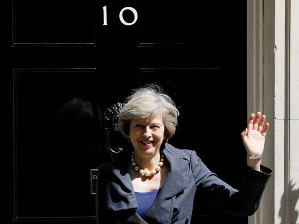Theresa May eager to visit India