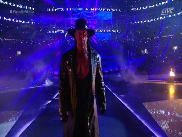 Undertaker at Wrestlemania 32 (Image courtesy: Twitter)
