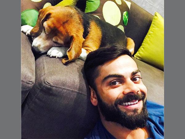 Virat Kohli enjoys home food, gets unconditional love from 'little dynamite'