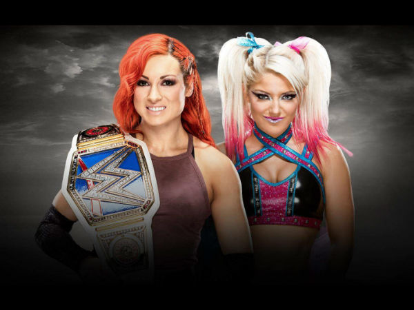 Women's title match might not take place (image courtesy WWE)