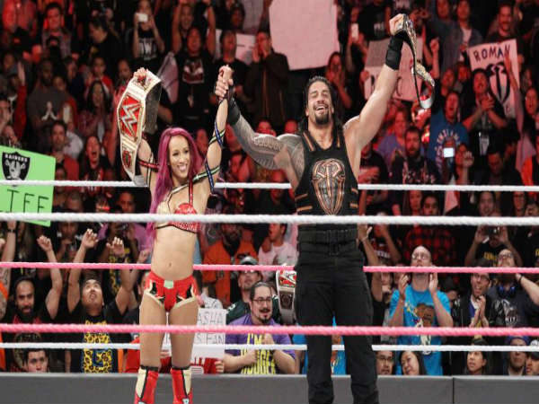 Sasha and Roman Reigns both will participate at Hell in a Cell (Image courtesy: WWE.com)