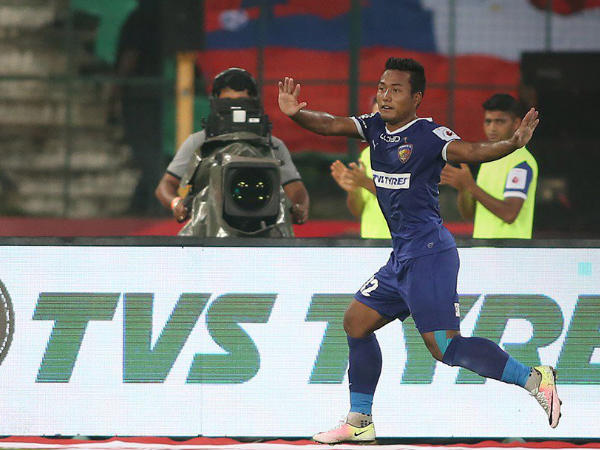 Jeje Lalpekhlua (Image courtesy: ISL Twitter handle)