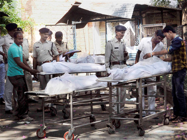 Bodies of SIMI terrorists who were killed in Bhopal encounter