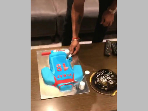 Kohli's birthday celebration