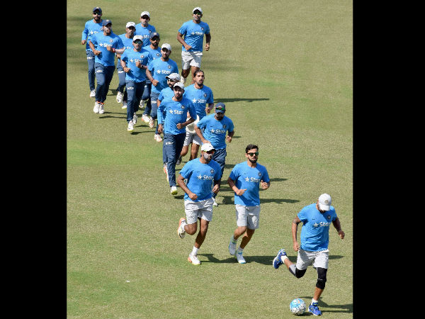 India, England teams sweat it out in the nets