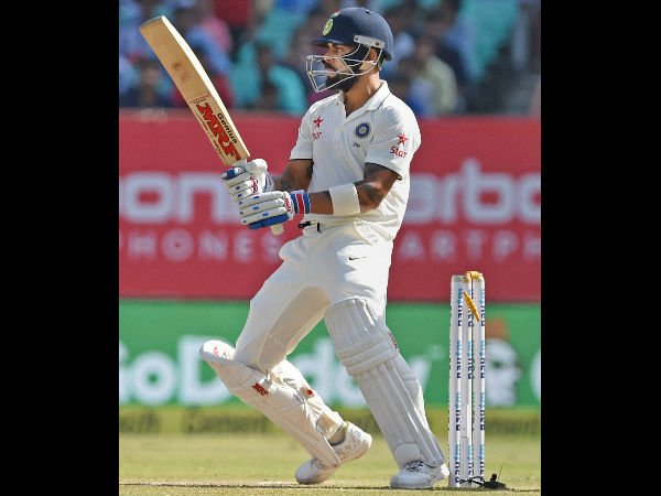 Virat Kohli out in a bizarre way