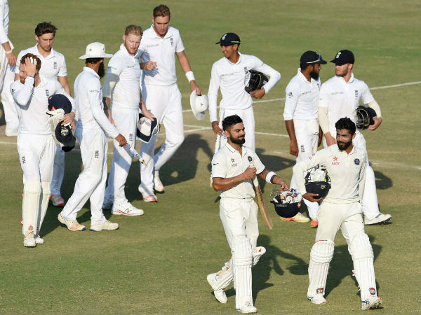 India-England Rajkot Test ends in a draw
