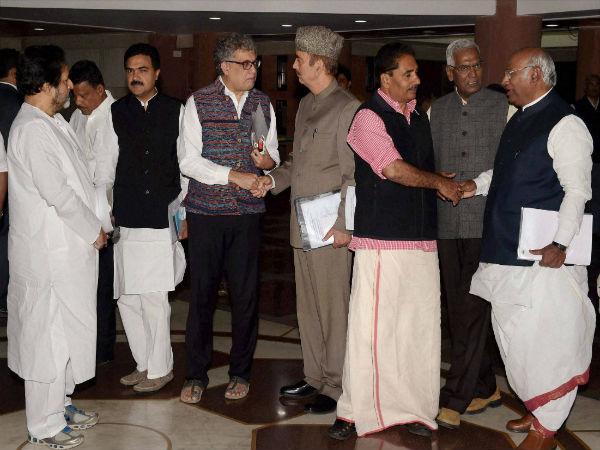 Image 1 In Pics- All party meet ahead of Winter Session of the Parliament