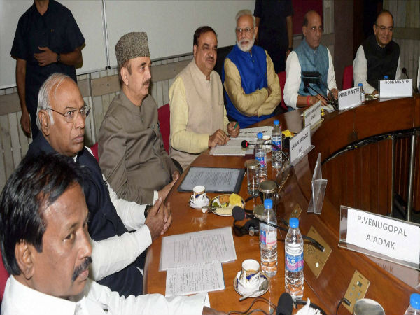 Image 5 In Pics- All party meet ahead of Winter Session of the Parliament