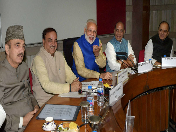 Image 7 In Pics- All party meet ahead of Winter Session of the Parliament