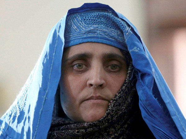 The 'Afghan girl'