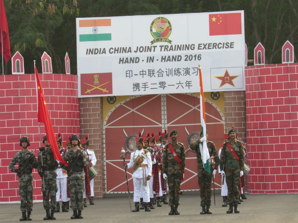 Indo China Joint Military Exercise Hand – in – Hand 2016