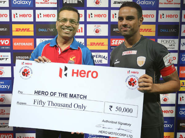 Hero of the Match