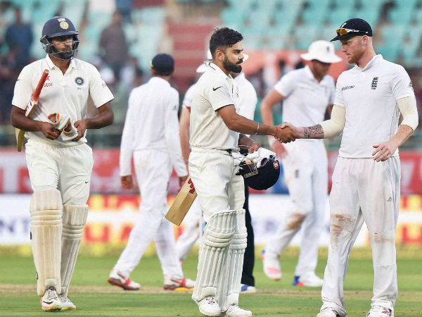 India post 317/4 at stumps on Day 1