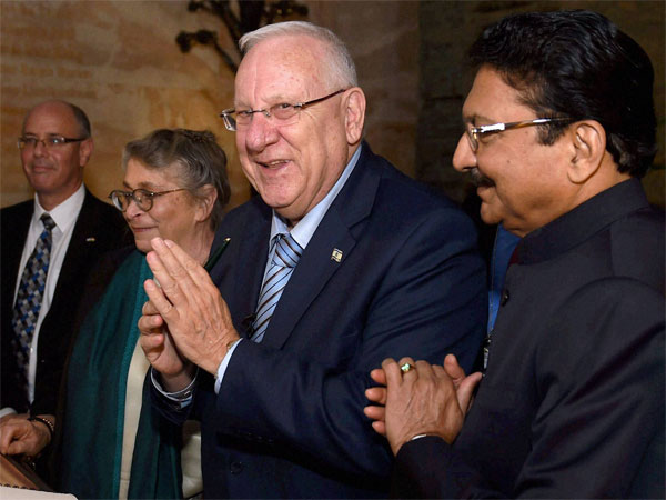 Rivlin said India and Israel need to fight terror together