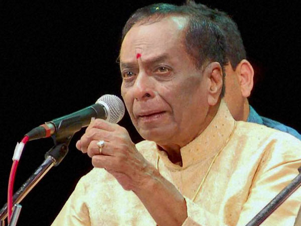 Legendary carnatic singer Balamuralikrishna no more