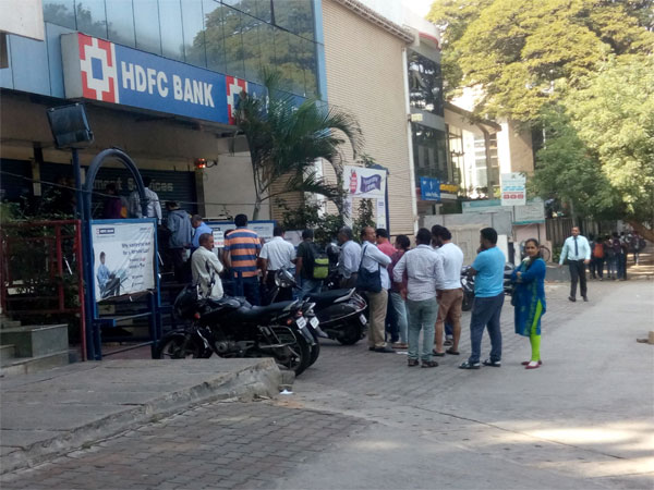 Demonetisation: No respite at ATMs