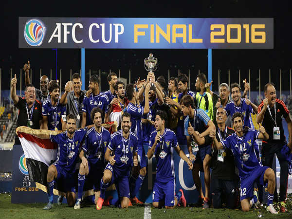Air Force Club crowned AFC Cup champions (Image courtesy: AFC Cup Twitter handle)