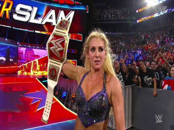 WWE Raw Women's champion, Charlotte (Image courtesy: Youtube)