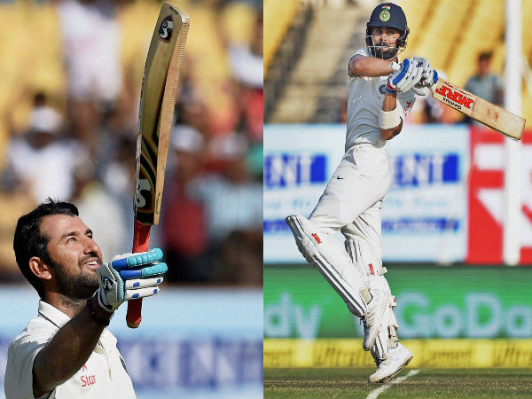 This is how Twitterati hailed Kohli-Pujara for brilliant centuries against England