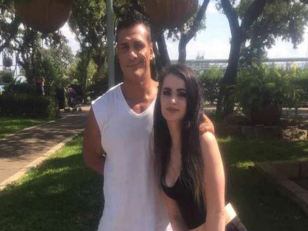 Paige and Alberto Del Rio (Image courtesy: WWE Twitter handle)