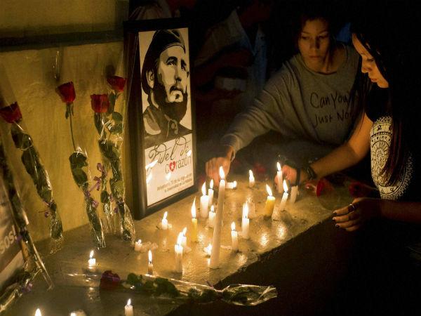 Cuba begins official tribute to Fidel Castro