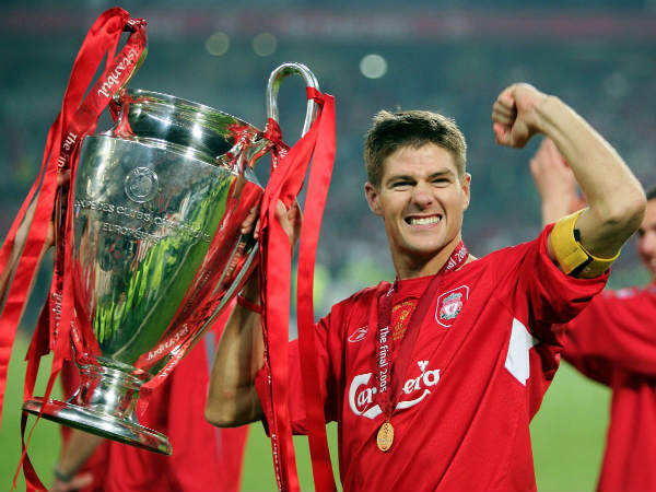 Steven Gerrard (Image courtesy: Champions League Twitter handle)