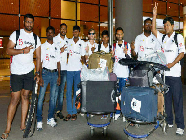File photo: Indian blind cricket team