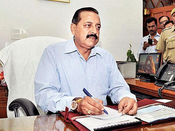 Minister of State in the PMO Jitendra Singh