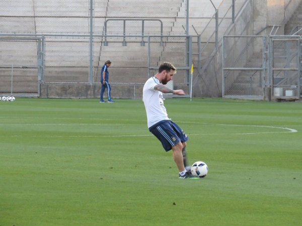 Lionel Messi (Image courtesy: Argentina Football team Twitter Handle)