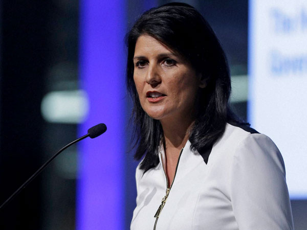 The US Ambassador to the United Nations, Nikki Haley. PTI file photo