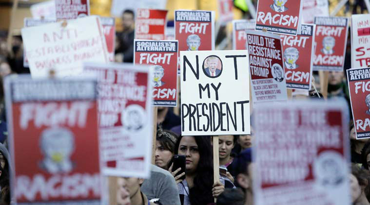 Anti-Trump protests continue across US
