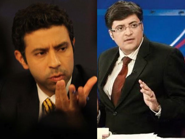 Arnab Goswami out, Rahul Shivshankar in as Times Now Editor in chief