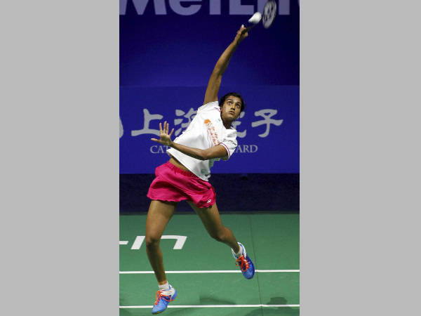 A file picture of PV Sindhu