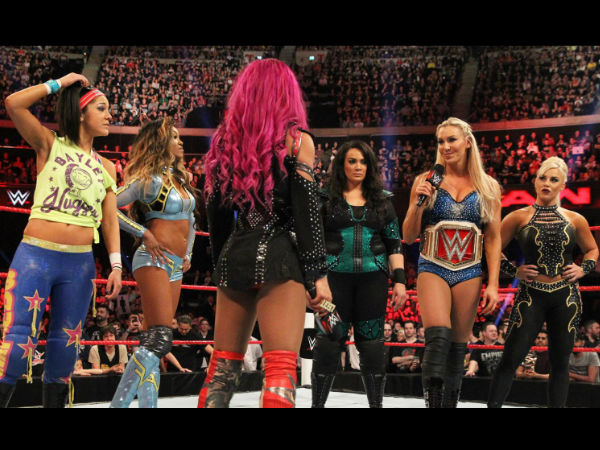 A lot is happening in the Women's division (image courtesy WWE.com)