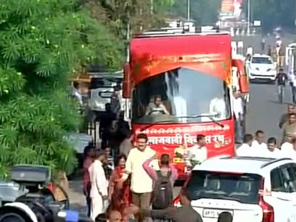 Akhilesh's vehicle breaks down after travelling a kilometer