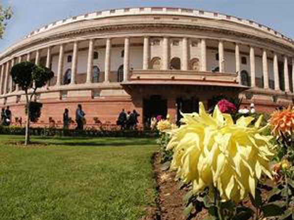 Oppn protests in Parliament complex