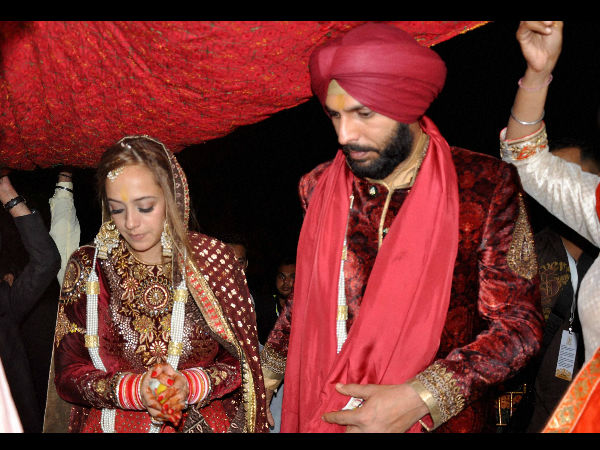 Yuvraj Singh marries actress Hazel Keech