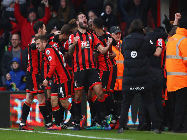 AFC Bournemouth 4-3 Liverpool FC