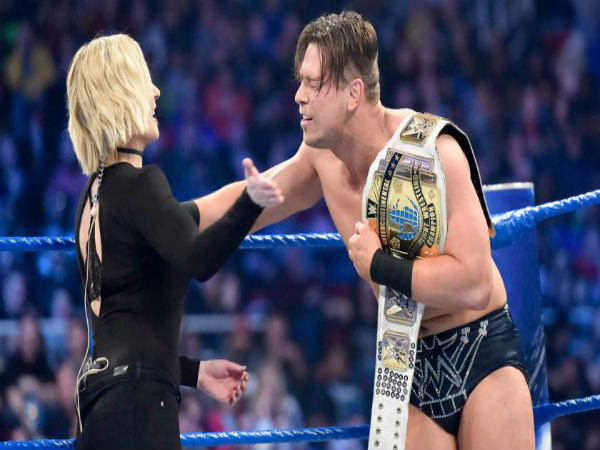 Renee's slap to the Miz (Image courtesy: wwe.com)
