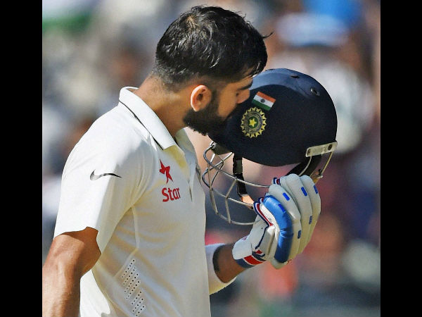 Highest score as a Test captain for India: