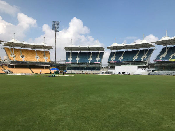 Chepauk getting ready for 5th Test