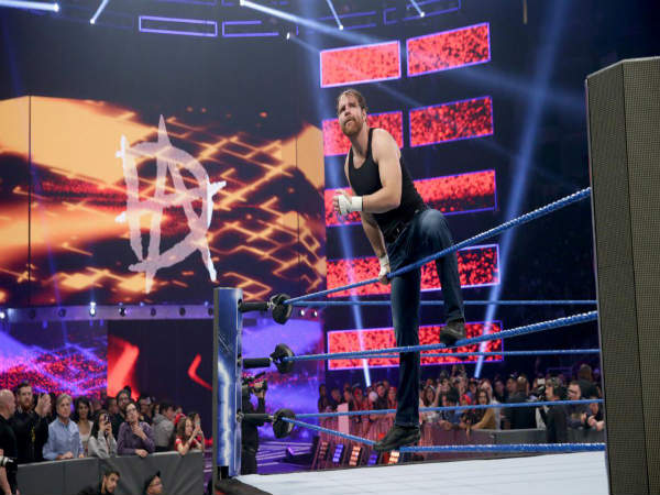 Dean Ambrose on Smackdown (Image courtesy WWE.com)